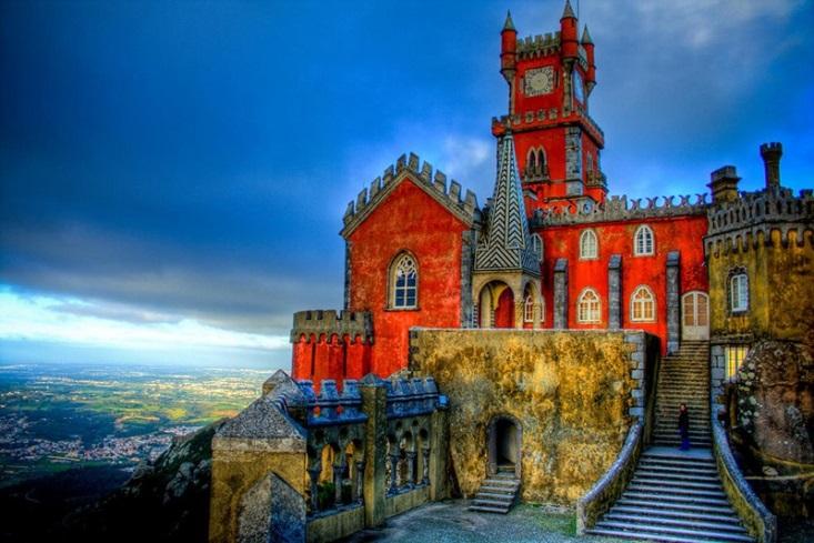cung điện quốc gia ở Pena, Bồ Đào Nha