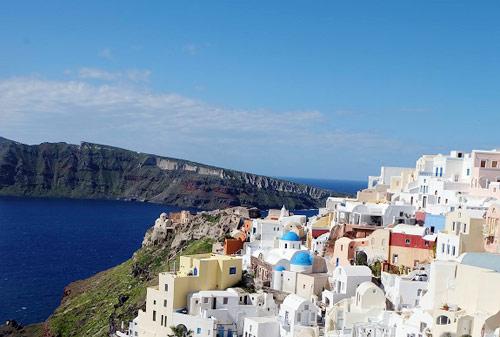 Đảo Santorini Hy Lạp