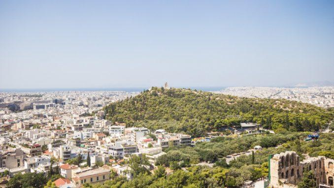 Một góc Athens Hy Lạp