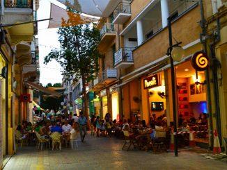 Quán café phố Ledra thị trấn cổ Old Town ở Nicosia - Síp