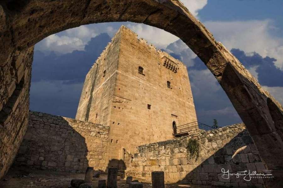 Lâu đài Kolossi đảo Sip
