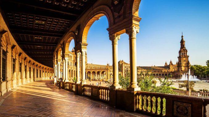 Cảnh đẹp ở Seville, Tây Ban Nha